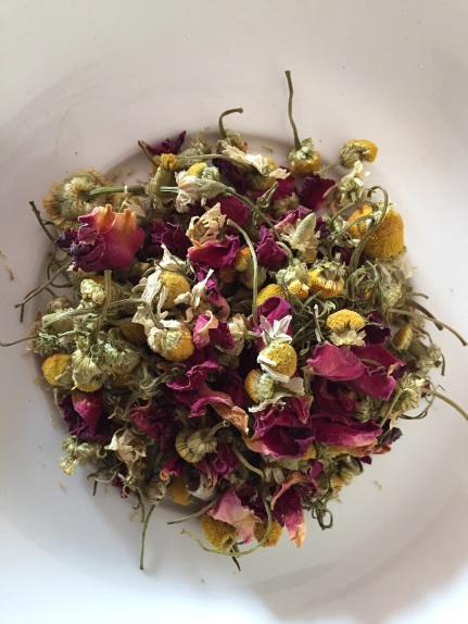 Chamomile & Rose Petal Tea